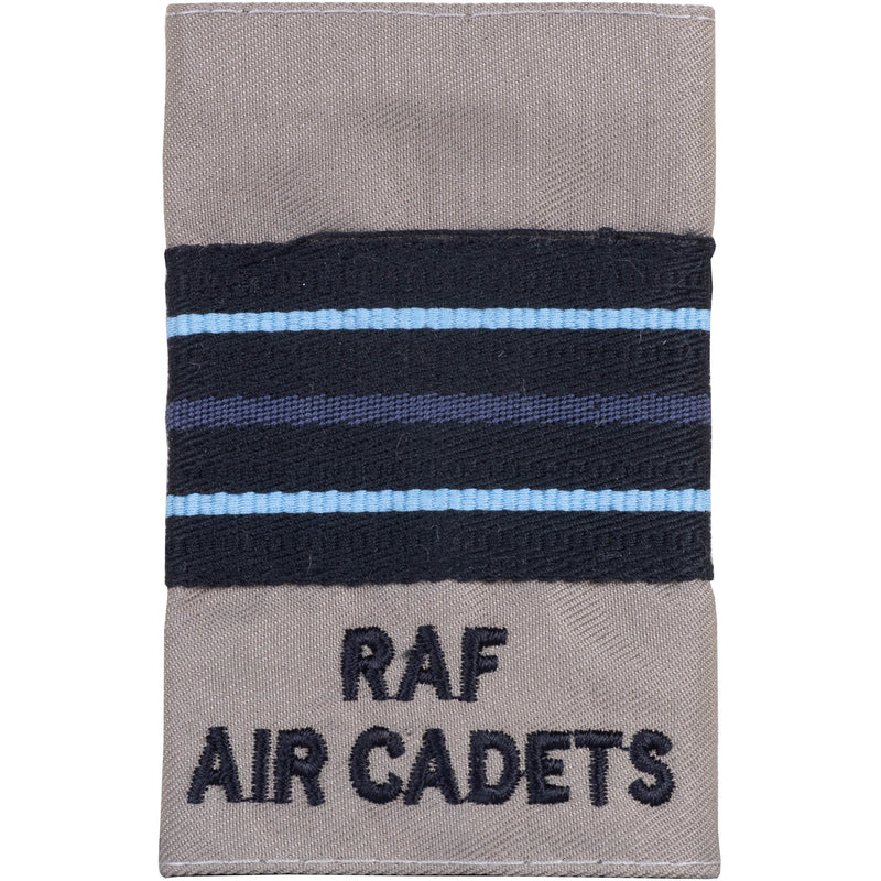 RAFAC - Officers' Rank Slide - Tan