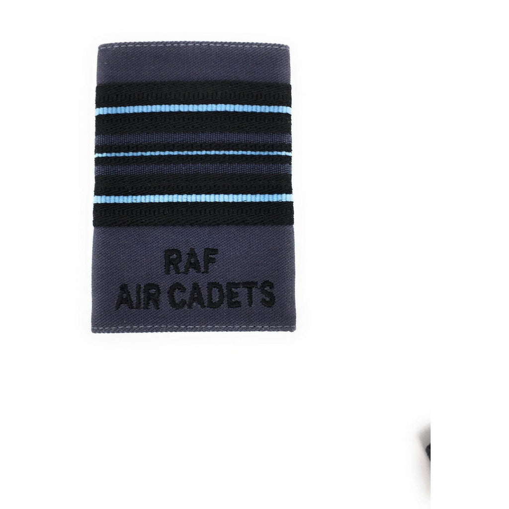 Officers' No2 Full Dress Rank Slide - RAF Air Cadets - RAF Blue-Embroidered Badges-Ammo & Company-Wing Commander-Cadet Kit Shop
