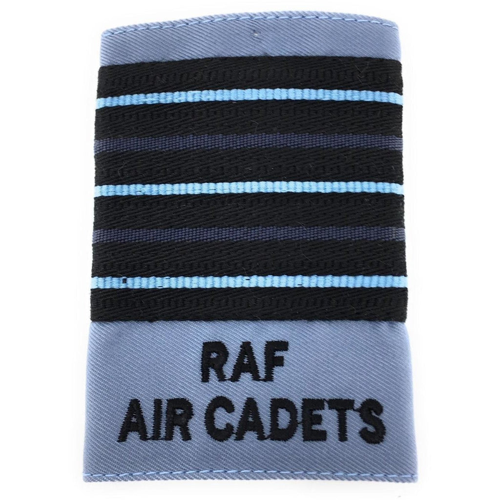 Officers' No2 Dress Wedgewood Rank Slide - RAF Air Cadets-Embroidered Badges-Ammo & Company-Wing Commander-Cadet Kit Shop