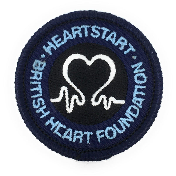 Air Cadet Heartstart First Aid Blue Badge | Cadet Kit Shop | Cadet Force Badges