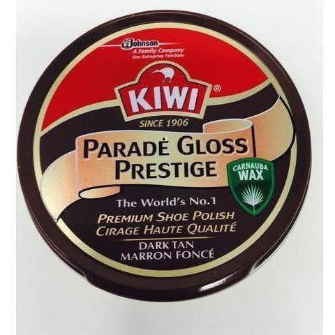 Kiwi Parade Gloss Shoe Polish-Combat Boots-KIWI-Brown-Cadet Kit Shop