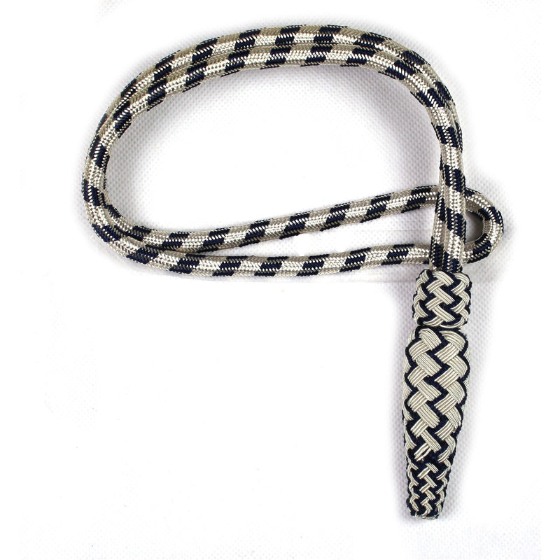 Sword Knot Police, silver and blue