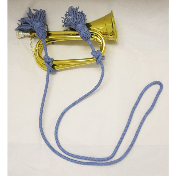 Bugle Cord RAF Blue MoD Specifications -Overall Length 103""