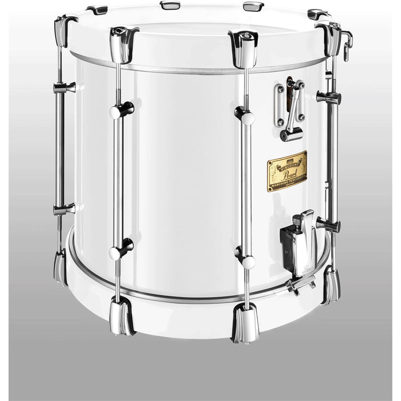 "Viscount Model Pearl Military Side Drum (Twin Snare) 14"" x 12"" White (W"