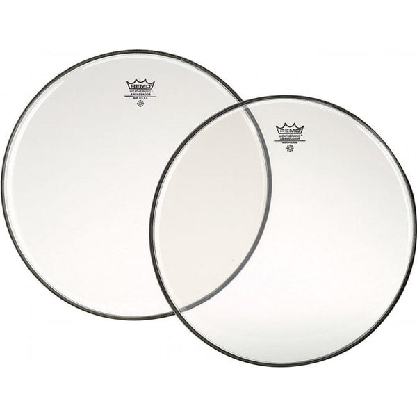 "Remo 14"" Ambassador Clear Side Drum Bottom Head"