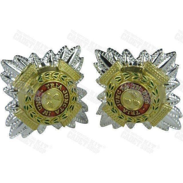 3/4' No.1 Dress Pips | Ammo & Company | Metal Badges of Rank & Appointment