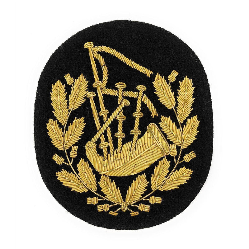 No1 Dress Pipe Major's Badge Gold/Black