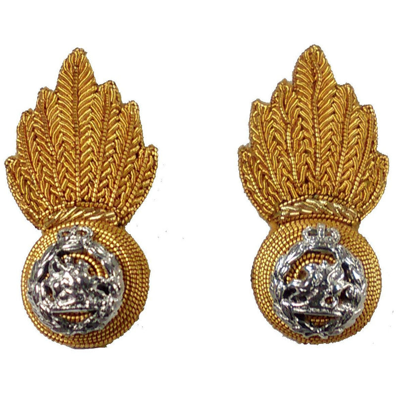 Collar Badge - Officers RRF No1 & Mess Dress - Pair
