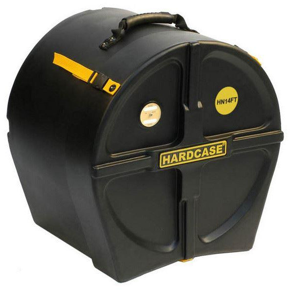 Hardcase 14 inch Black Drum Case  - Suitable for Most Makes of High Tension Marching Side Drums
