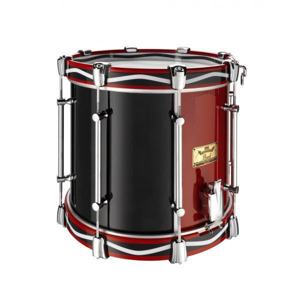 "Viscount Model Pearl Military Side Drum (Single Snare) 14"" x 12"" Red & Blue (RB"