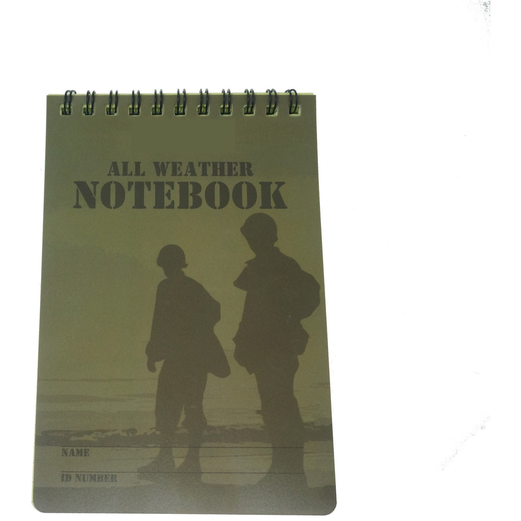 A6 Notebook - All weather x 50 Sheets - Grid | Official Cadet Kit Shop | Survival Kit