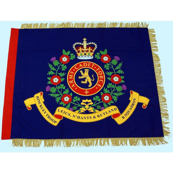 Army Cadet Force (ACF) Screen Printed Regent Range - Contingent Banner | Official Cadet Kit Shop |