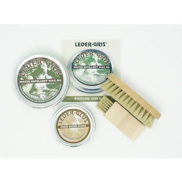 Altberg Boot Care Kit - Leder Gris - Brown | Altberg | Combat Boots