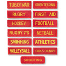 County Sports Badge - Pack of 10
