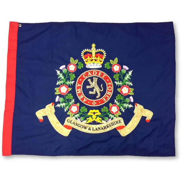 Army Cadet Force (ACF) Fully Embroidered Regal Range - Contingent Banner | Official Cadet Kit Shop |