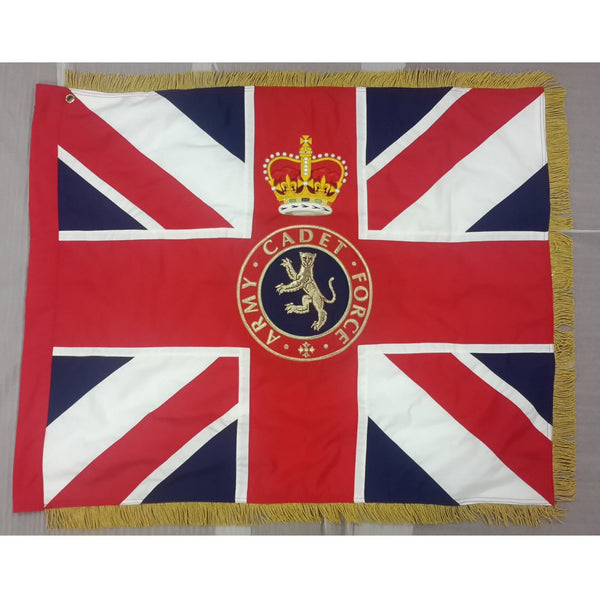 Army Cadet Force (ACF) Fully Embroidered Regal Range - Union Banner | Official Cadet Kit Shop |