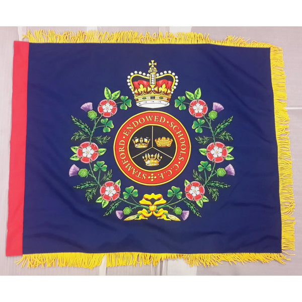 Combined Cadet Force (CCF) Screen Printed Regent Range - Contingent Banner