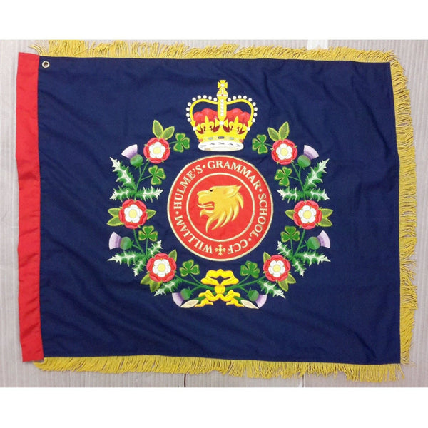 Combined Cadet Force (CCF) Fully Embroidered Regal Range - Contingent Banner