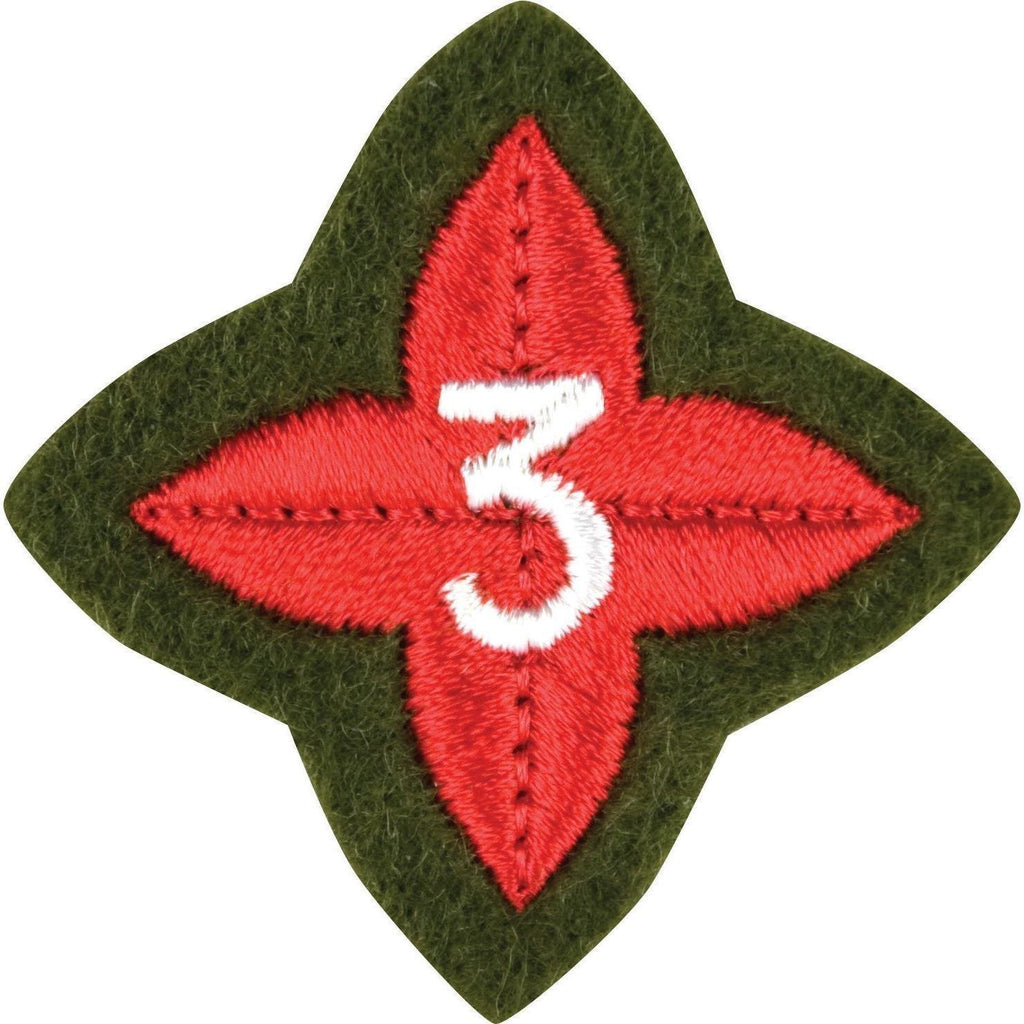 The ACF Award Training Badges (Per 10)-Cadet Force Badges-Cadet Kit Shop-Basic-Cadet Kit Shop