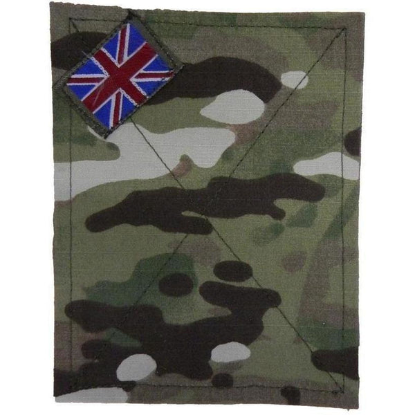 Cadet British Forces PCS Blanking Plate with Union Patch