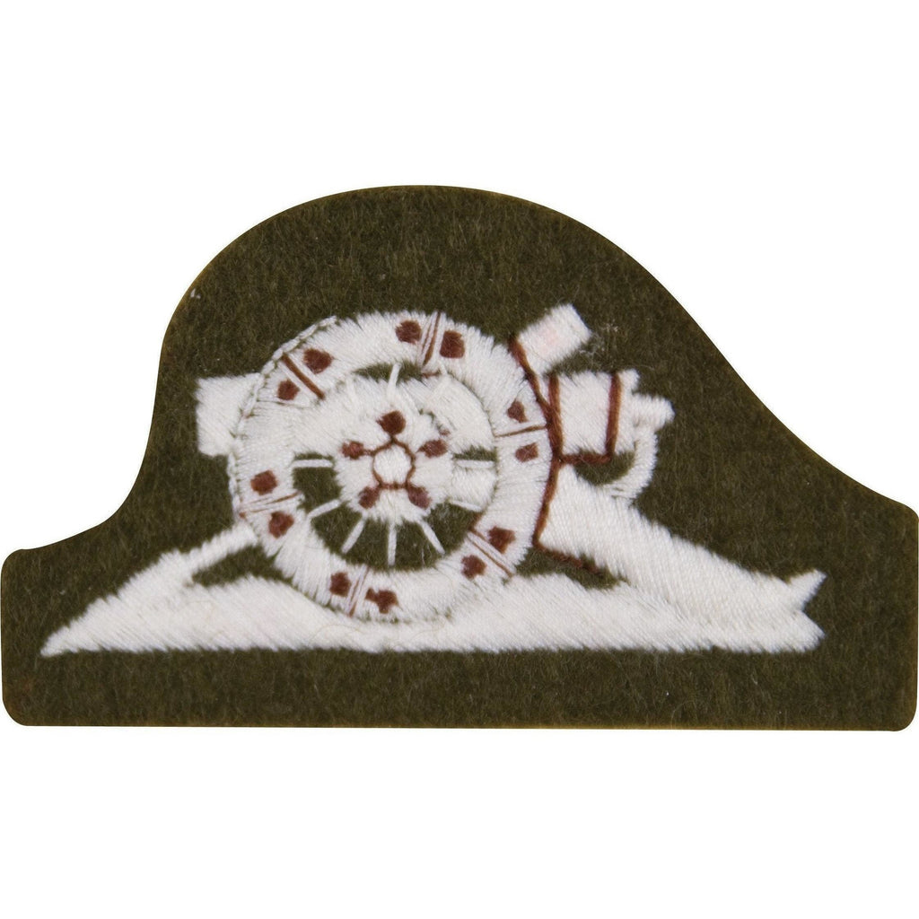 Left Facing Royal Artillery Trade Badge-Embroidered Badges-Ammo & Company-Cadet Kit Shop