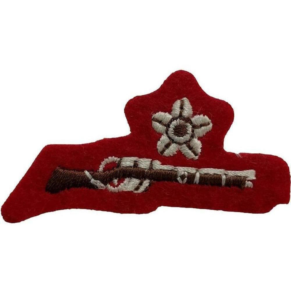 The ACF and CCF Shooting Proficiency Awards (Per 10)-Cadet Force Badges-Cadet Kit Shop-Pass (Rifle Only)-Cadet Kit Shop