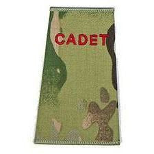 Cadet Rank Slide in Multicam MTP