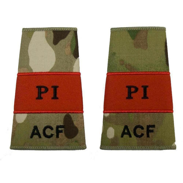 ACF Probationary Instructor Rank Slides in Multicam MTP | Ammo & Company | Embroidered Badges