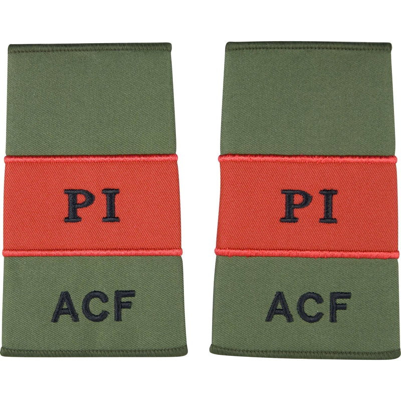 ACF Probationary Instructor Rank Slides | Ammo & Company | Embroidered Badges