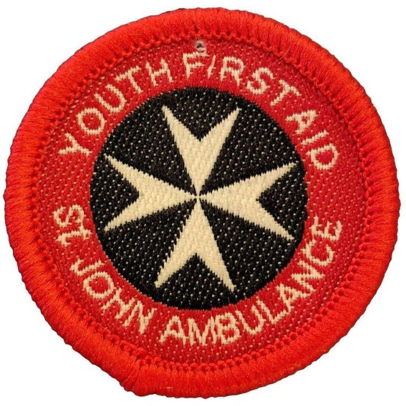 The St John's First Aid Badges