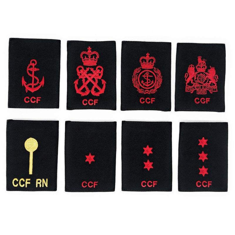 Royal Navy CCF Rank Slides