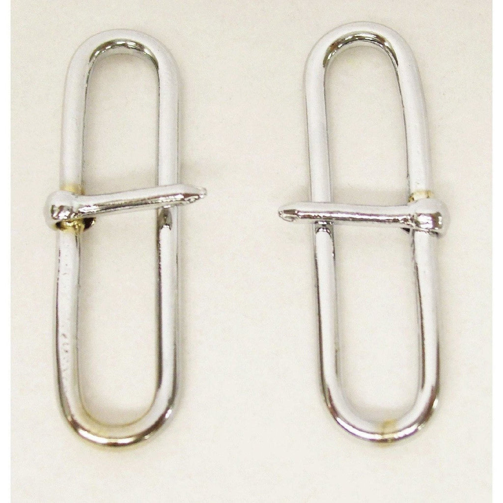 "2 ¼""  Chrome Side Buckle 