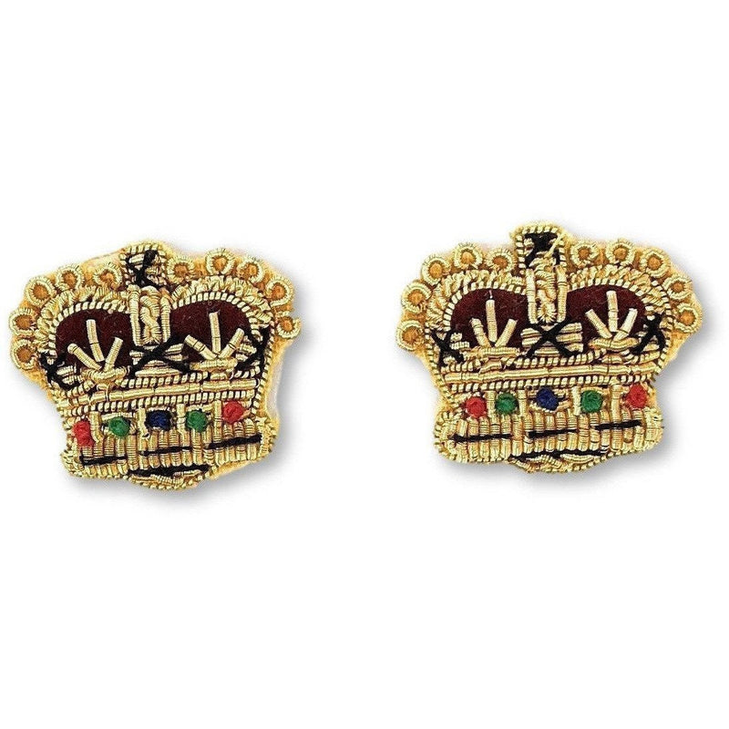 "¾"" Gold Wire Rank Crown"