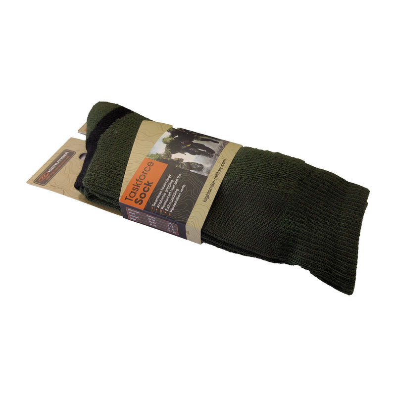 Highlander Taskforce - Olive Sock