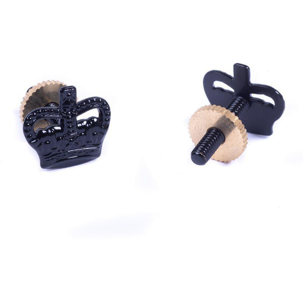 Rank Crown (3/8) - Black - Screw Fitting