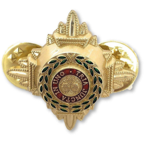 "3/4"" Gold And Enamelled Pips 