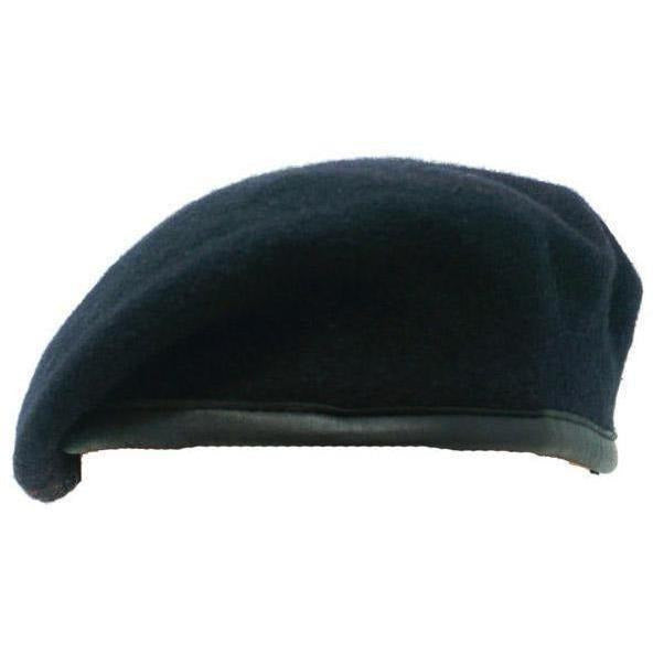 Small Crown Navy Beret