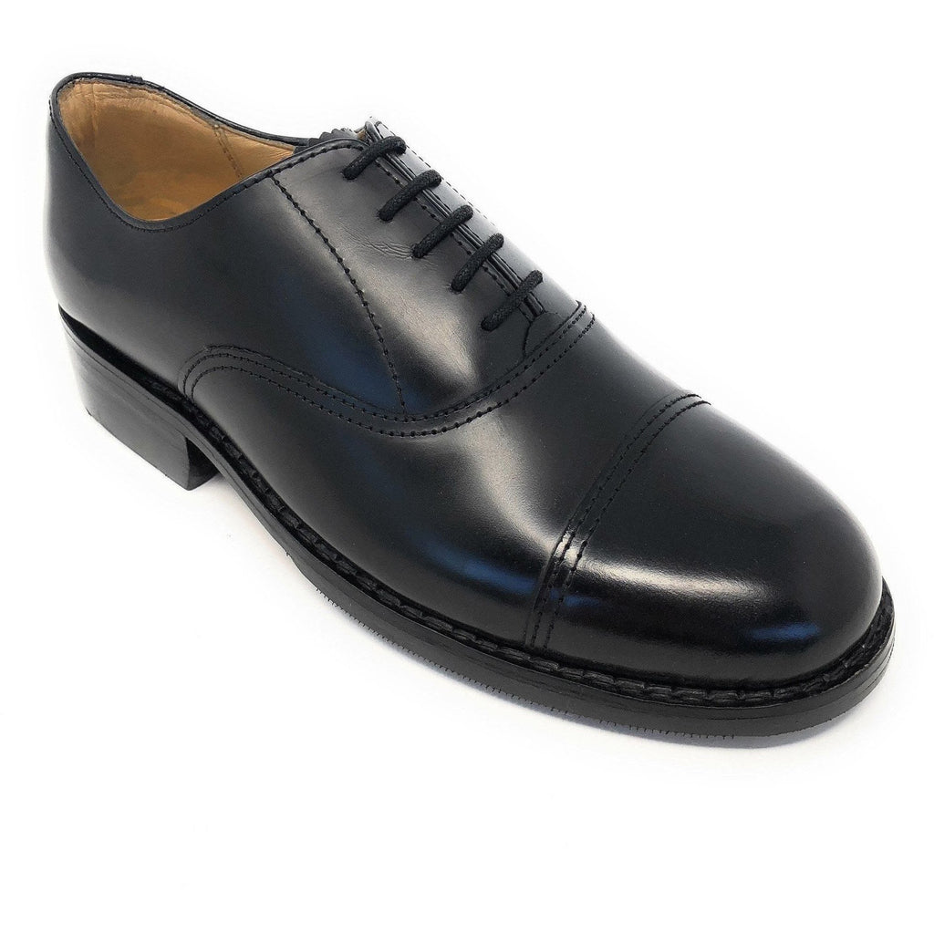 Oxford Shoe - Black Leather-Parade Footwear-Ammo & Company-9-Cadet Kit Shop