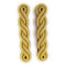 Shoulder Cords Male - 2 Ply - Gold MP - Mess Dress-Uniform Clothing & Accessories-Official Cadet Kit Shop-Cadet Kit Shop
