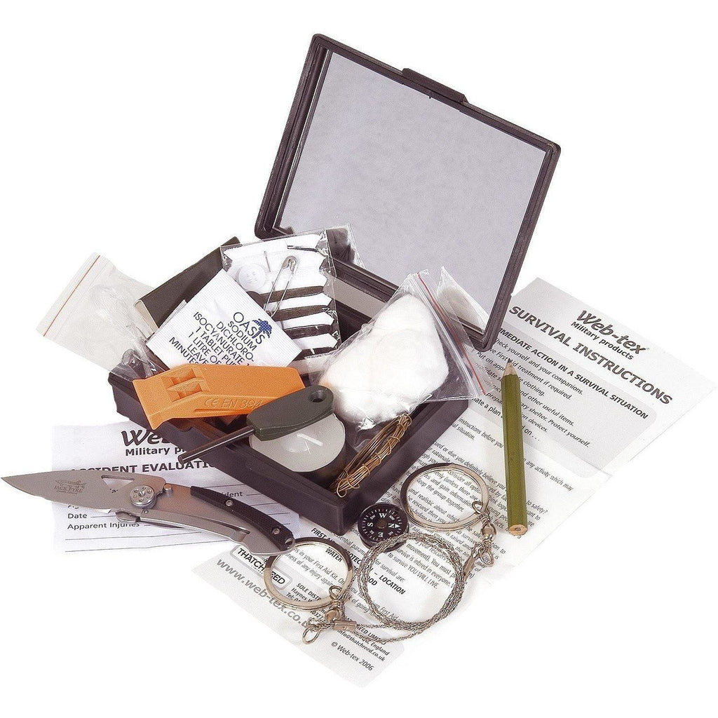Cadet Combat Survival Kit | Web-Tex | Survival Kit