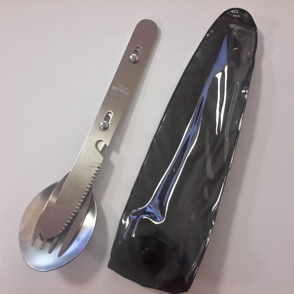 KFS Set - Knife Fork Spoon + Bottle Opener