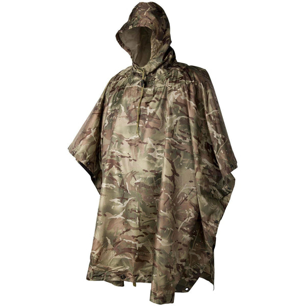 Waterproof Poncho Camouflage VCAM