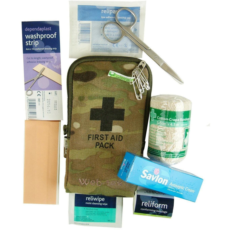 Web-Tex MULTICAM Small First Aid Kit