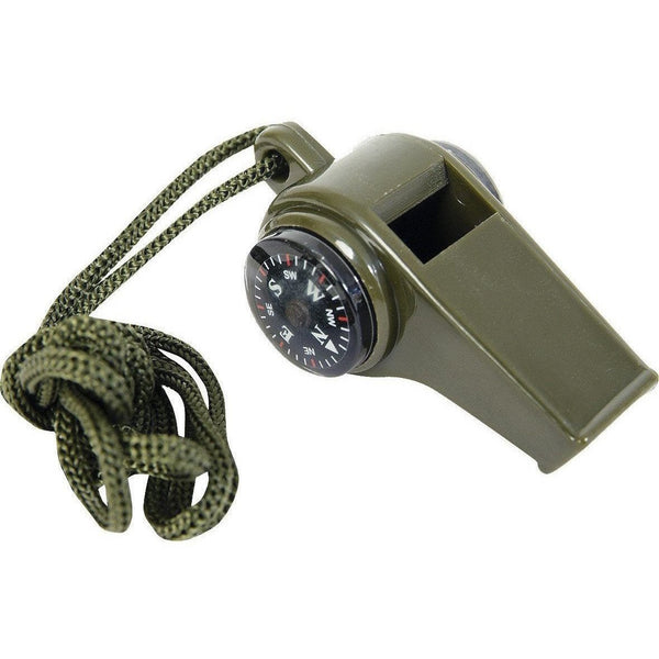 3 in 1 Whistle + Compass + Temperature | Web-Tex | Survival Kit