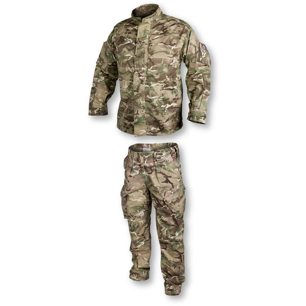 BUNDLE: Cadet PCS Green Kit Uniform Shirt + Trousers Ages 11 - 14
