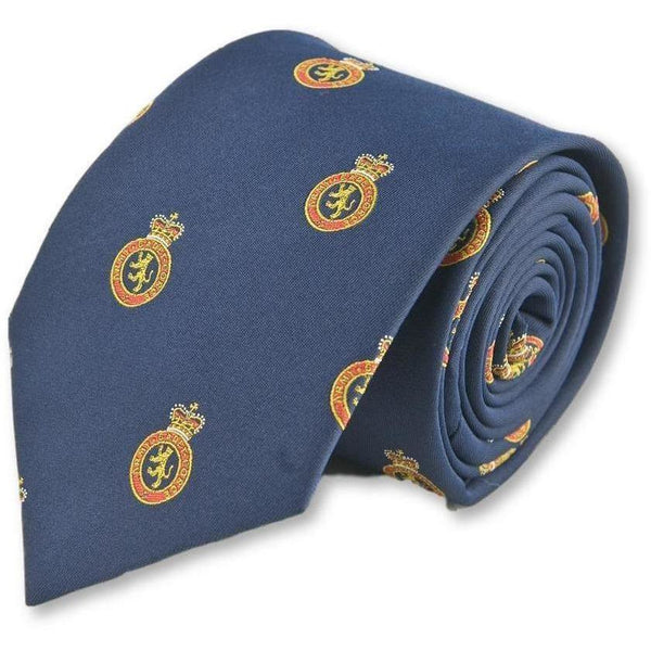 ACF Motif Polyester Tie | Ammo & Company | Uniform Clothing & Accessories