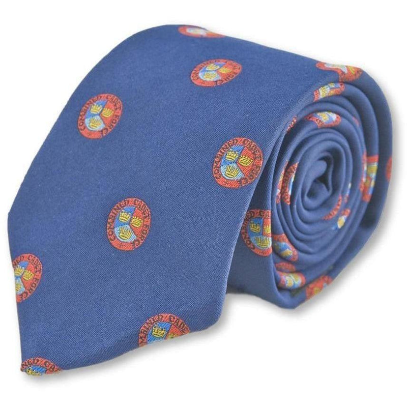 CCF Motif Polyester Tie