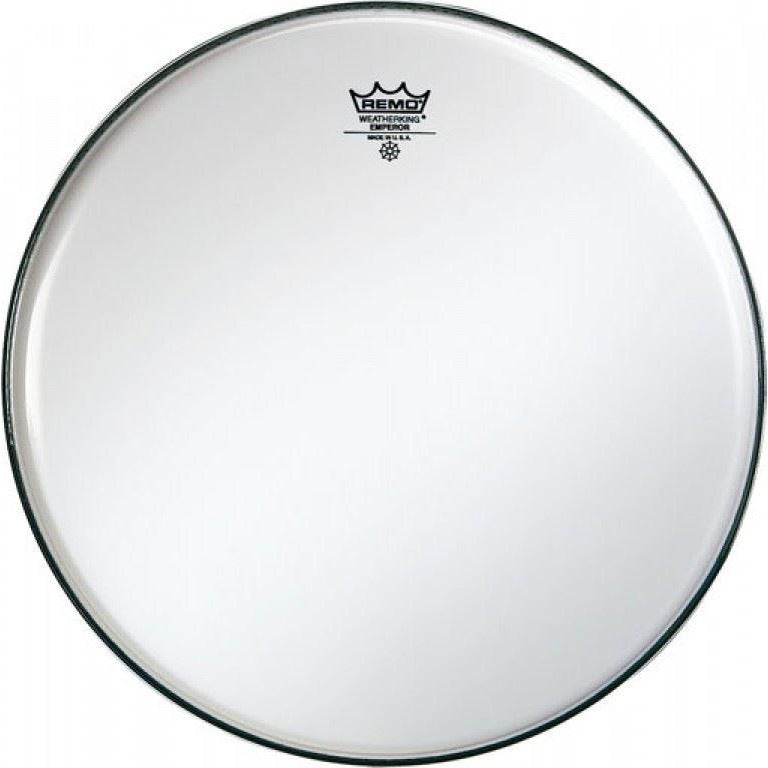 "Remo 14"" Emperor Smooth 2 ply White Side Drum Head (Batter/Top)"