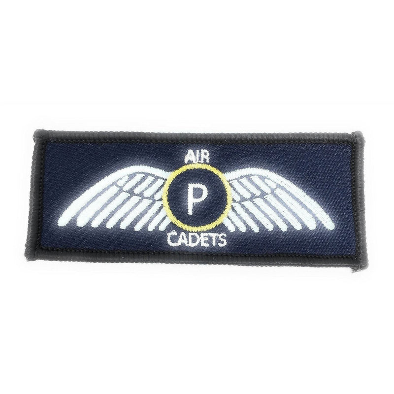 Air Cadets Pilot Scholarship ACPS - Gold Wings - Merrow Border - Paper Backing | Cadet Kit Shop |