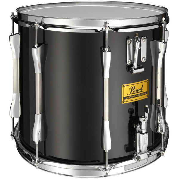 "Pearl Parade Series Military Side Drum, 14"" x 12"" Twin Snare, Black Wrap Chrome Counterhoops"